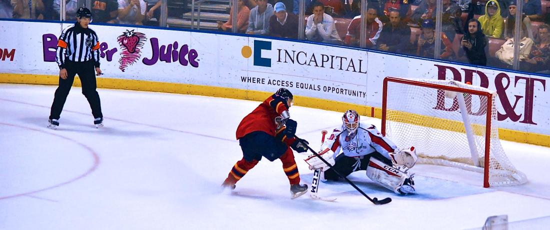 Jokinen scoring in the 20-round shootout Image courtesy of @turbuL3NT2 / COTP Photography