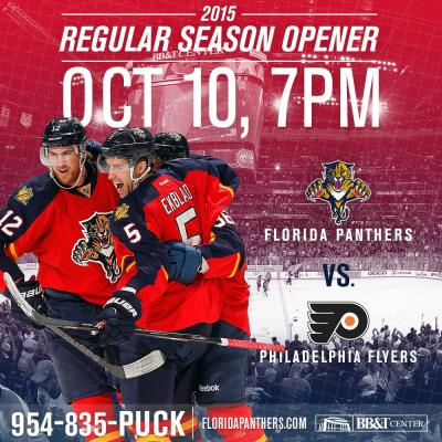 Image courtesy of the Florida Panthers
