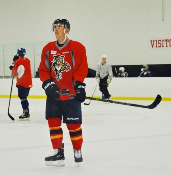 New Panther: Reilly Smith, Image courtesy of @turbuL3NT2 / COTP Photography